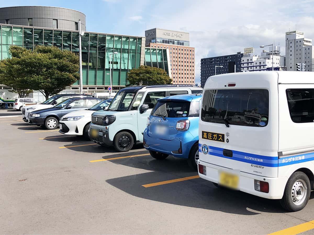 北海道 函館 きくよ食堂 駐車場