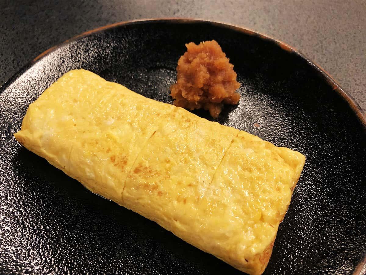 北海道 小樽 蕎麦 籔半|たまごやき