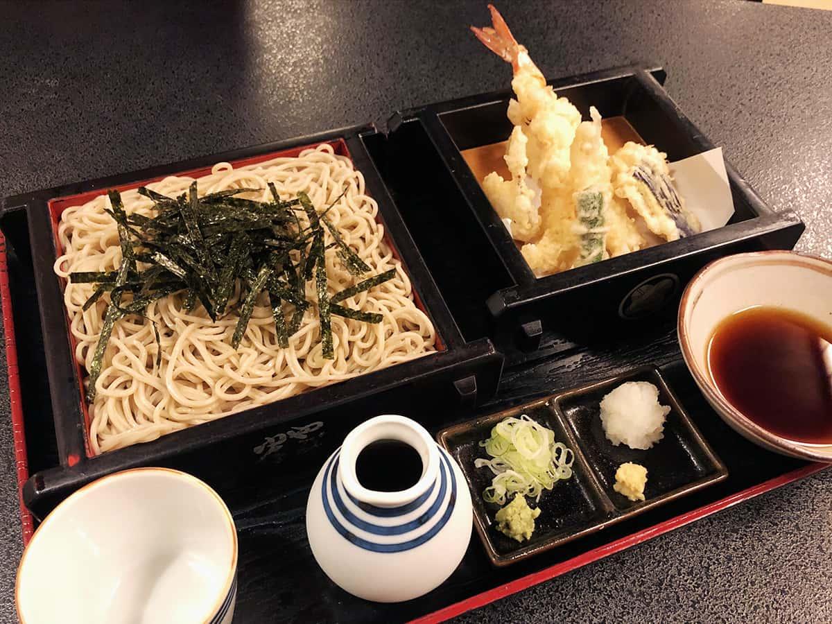 北海道 小樽 蕎麦 籔半|やさい天ざる