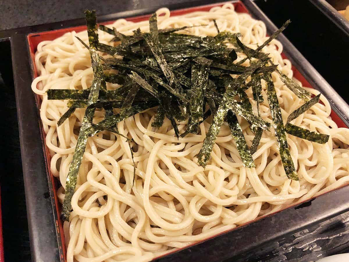 北海道 小樽 蕎麦 籔半|地物粉(道内産)