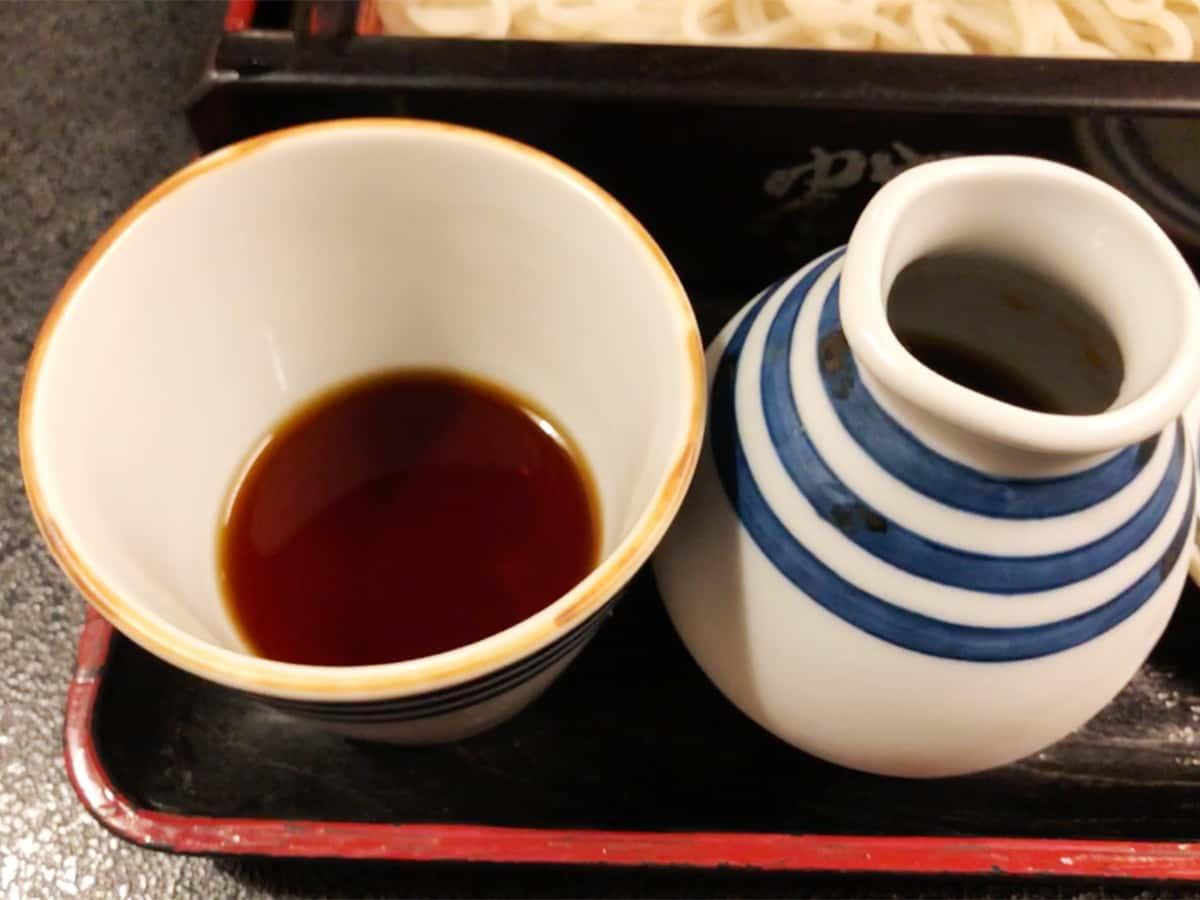 北海道 小樽 蕎麦 籔半|そばつゆ
