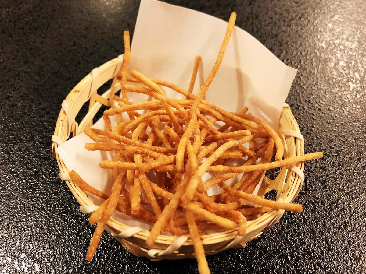 北海道 小樽 蕎麦 籔半|お通し