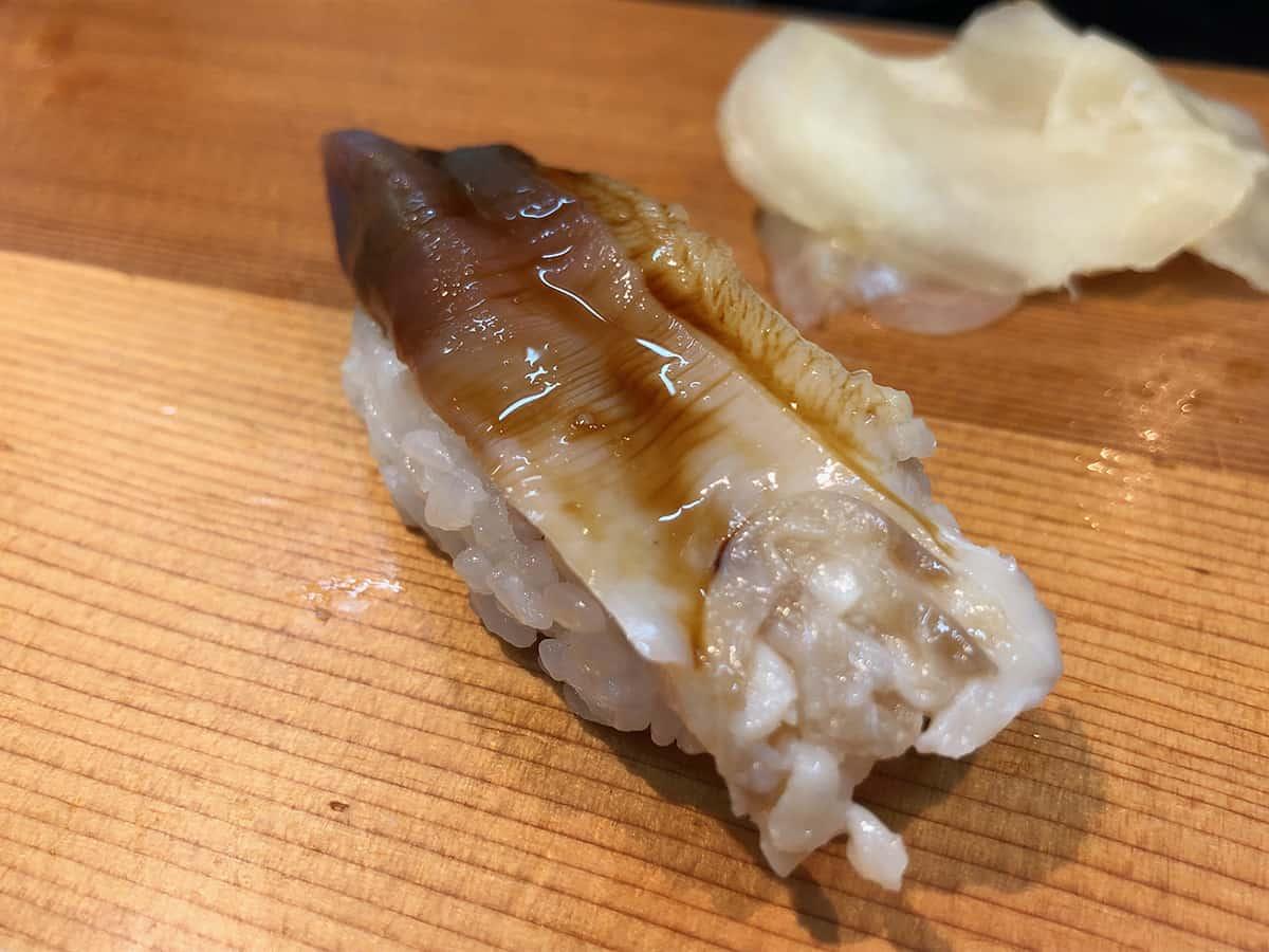 北海道 さっぽろ朝市 鮨の魚政|ホッキ貝