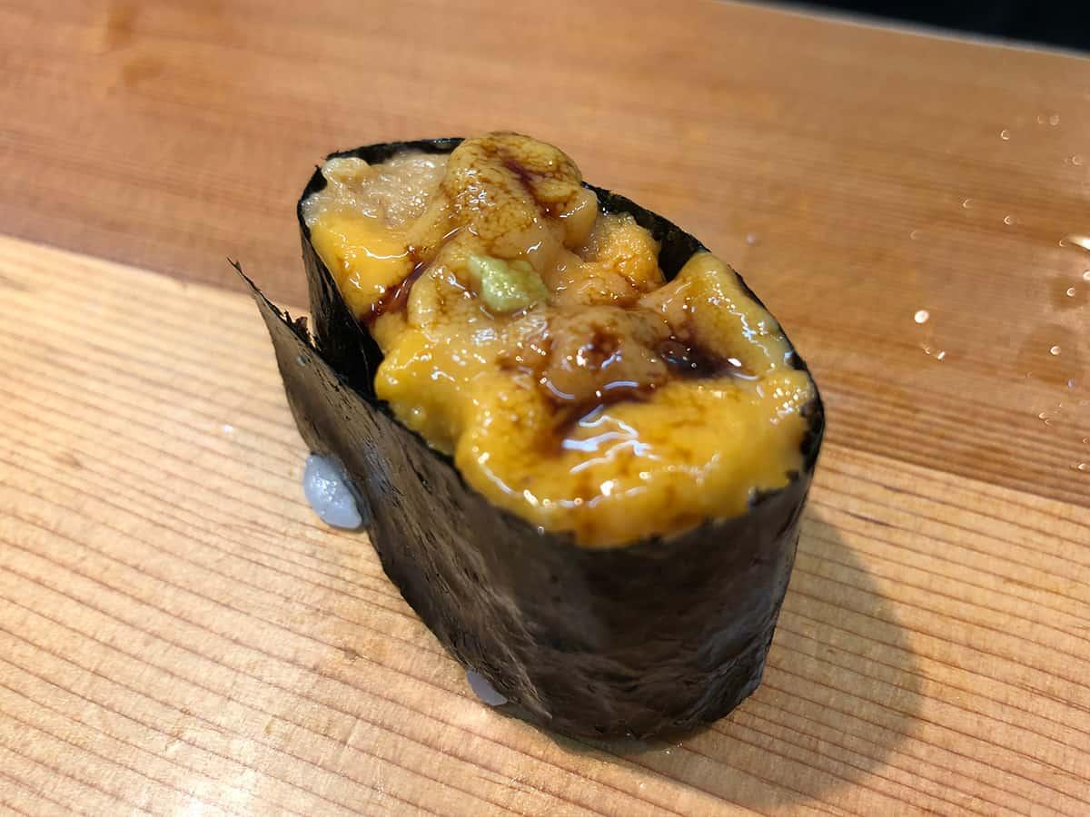 北海道 さっぽろ朝市 鮨の魚政|ウニ