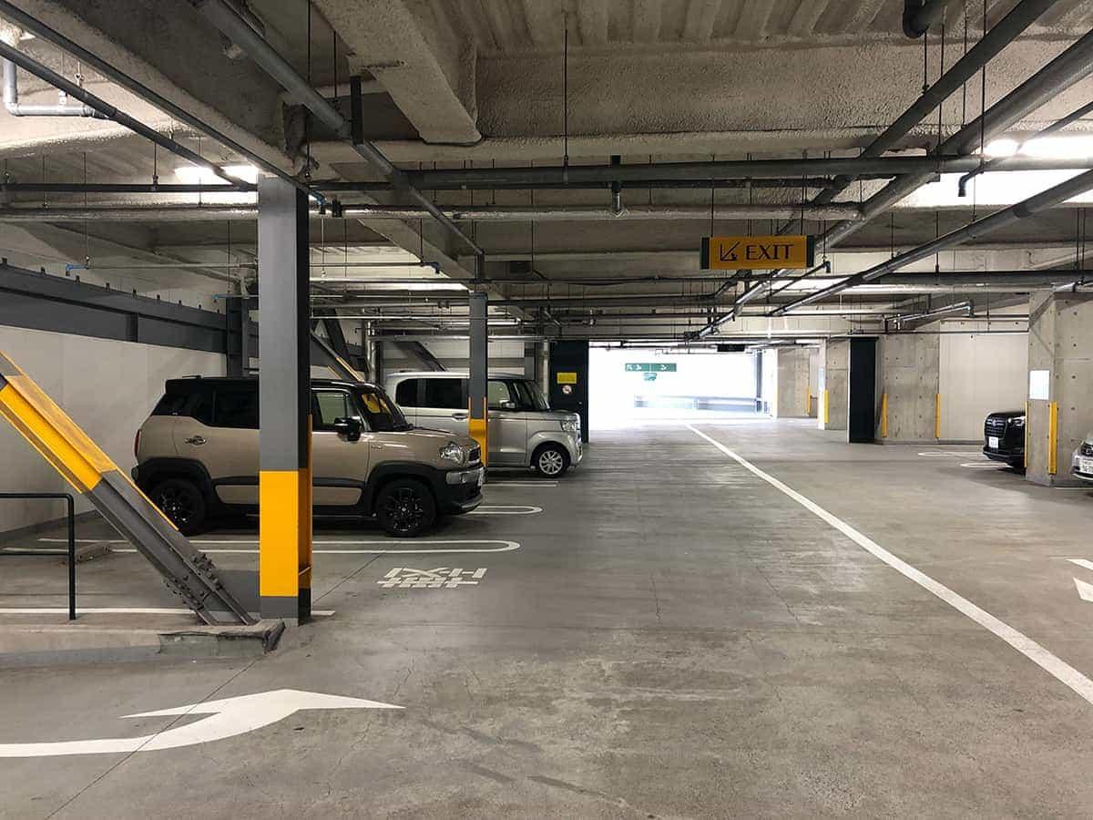 北海道 札幌 白い恋人パーク 駐車場