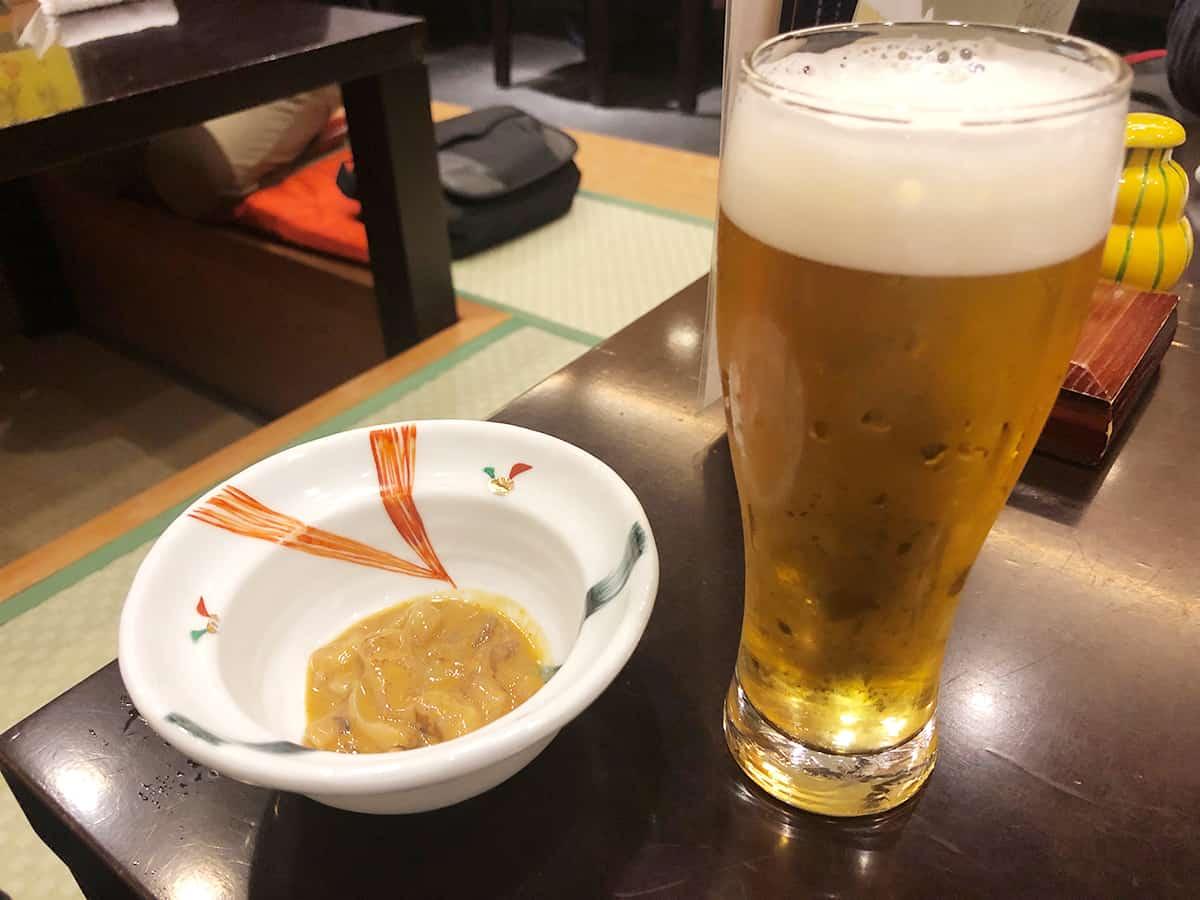 宮城 仙台 塩竈 すし哲 S-PAL仙台店|生ビール