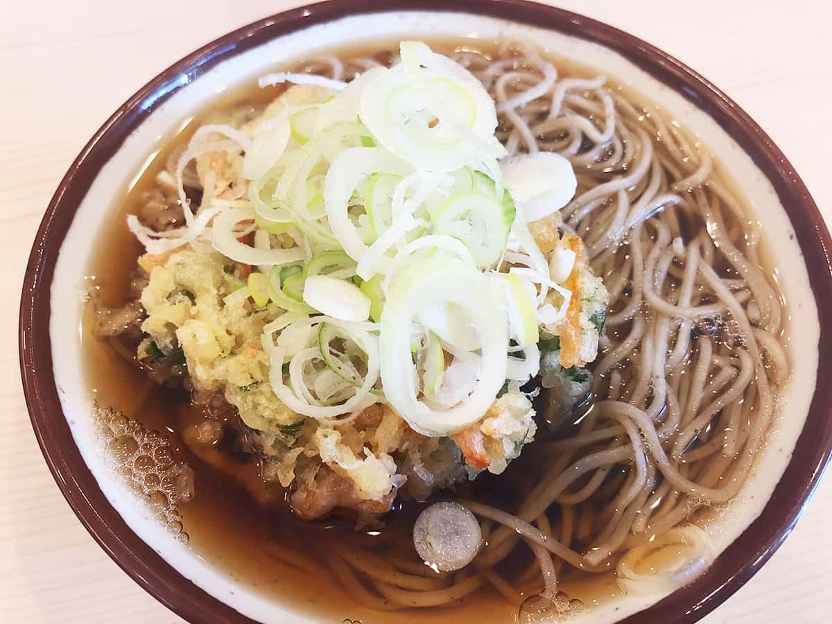 宮城 仙台 そばの神田 東一屋 名掛丁店|野菜かき揚