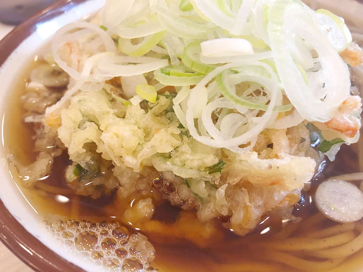 宮城 仙台 そばの神田 東一屋 名掛丁店 野菜かき揚