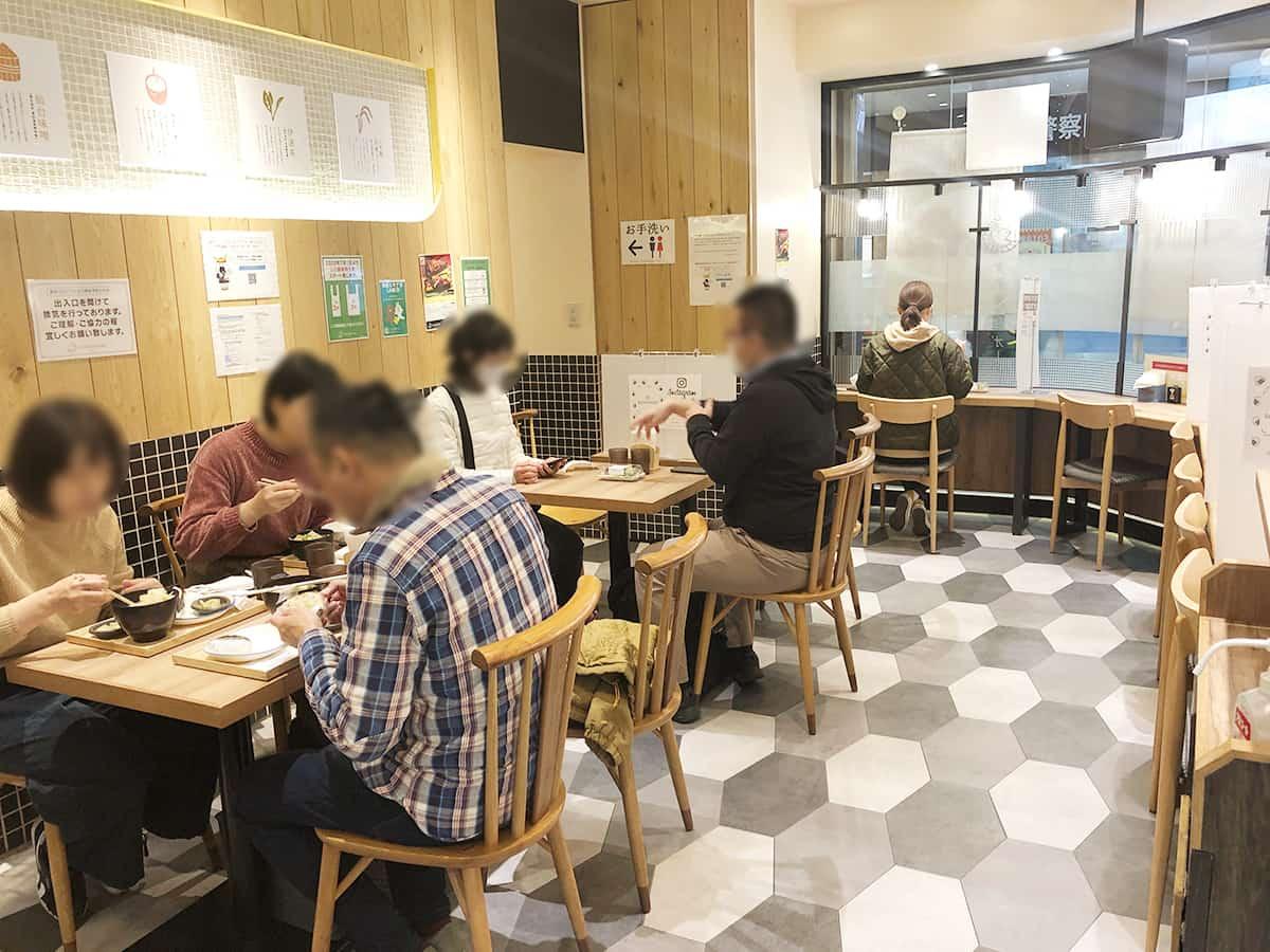 ダテ カフェ オーダー (Date Cafe Order)|店内