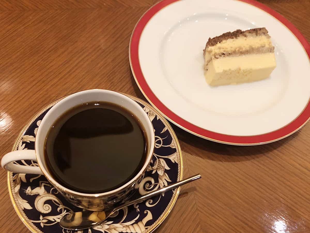 宮城 仙台 ホシヤマ珈琲店 アエル店 チーズケーキセット
