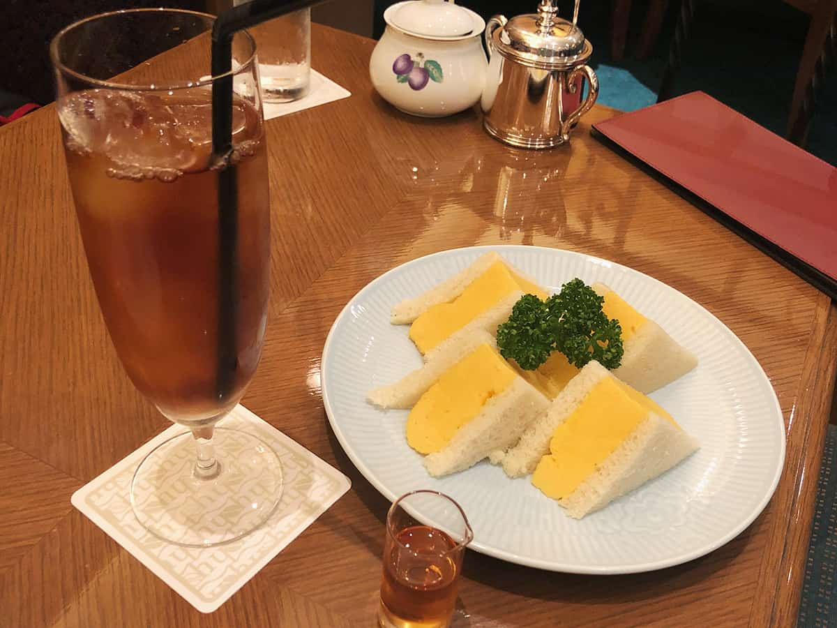 宮城 仙台 ホシヤマ珈琲店 アエル店|厚焼きたまごサンドウィッチセット