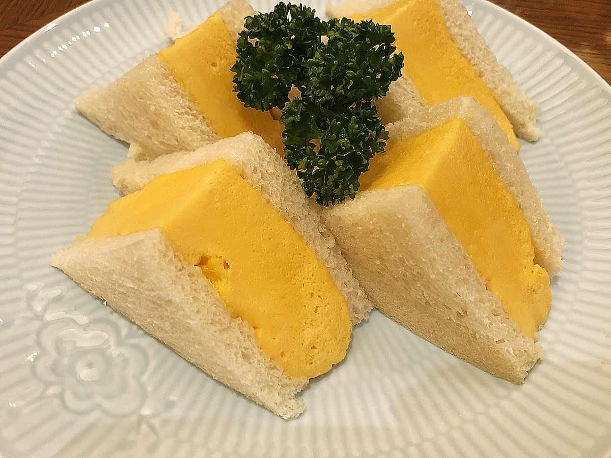 宮城 仙台 ホシヤマ珈琲店 アエル店|厚焼きたまごサンドイッチ