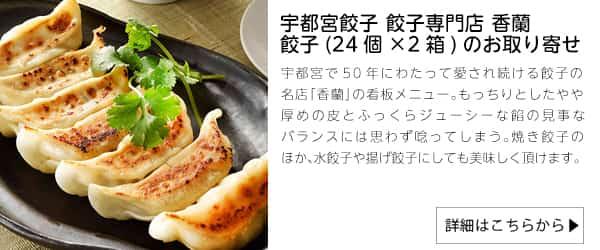 宇都宮餃子専門店香蘭