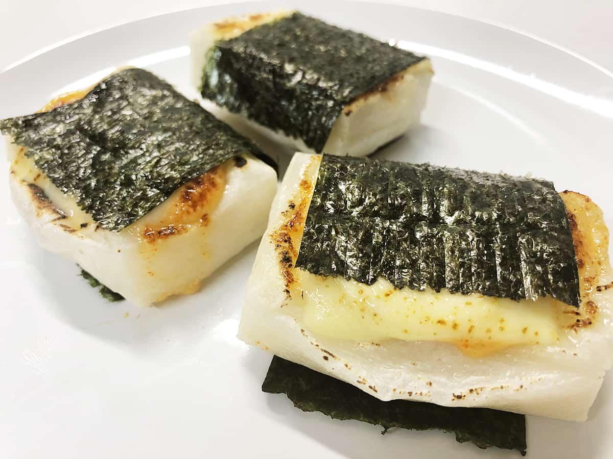 明太子とチーズ餅|博多辛子明太子の島本