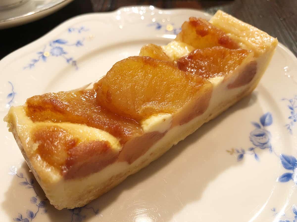 東京 池袋 炭火焼珈琲 蔵|りんごのタルト
