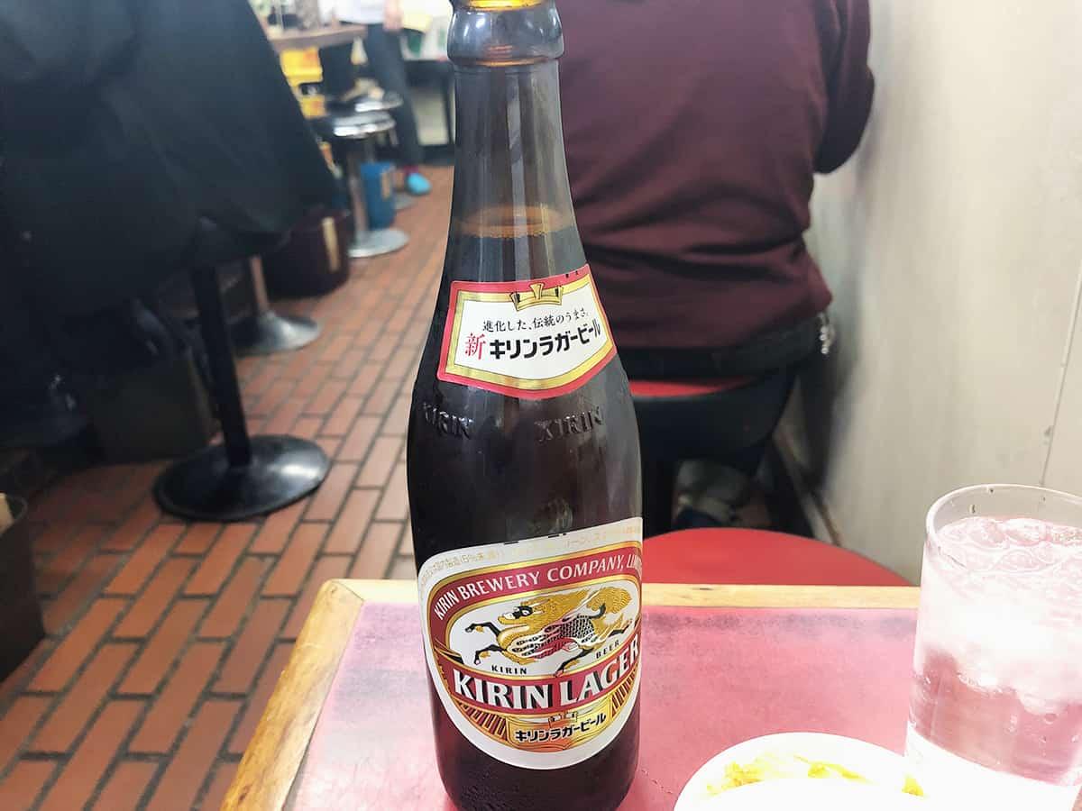 東京 下北沢 みん亭|ビール(中瓶)