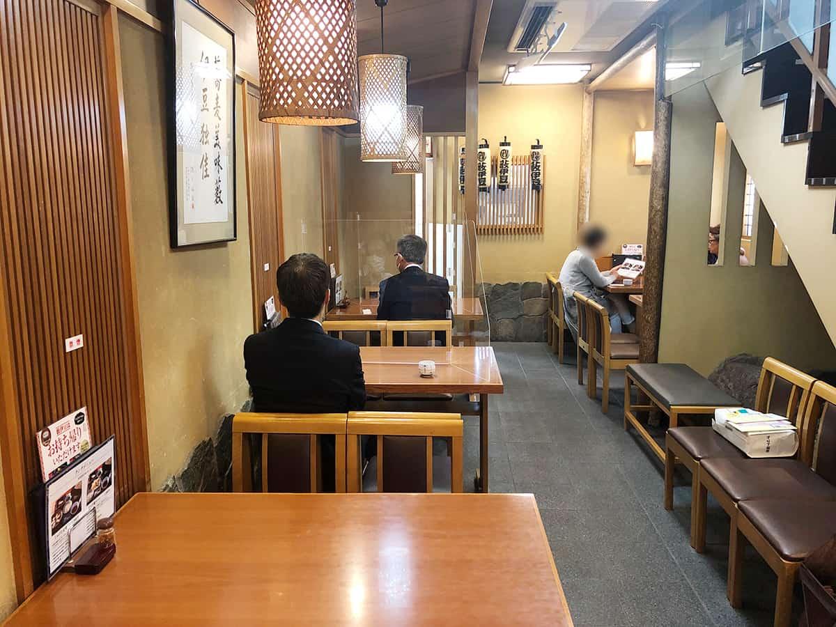 東京 日本橋 薮伊豆総本店 店内1階