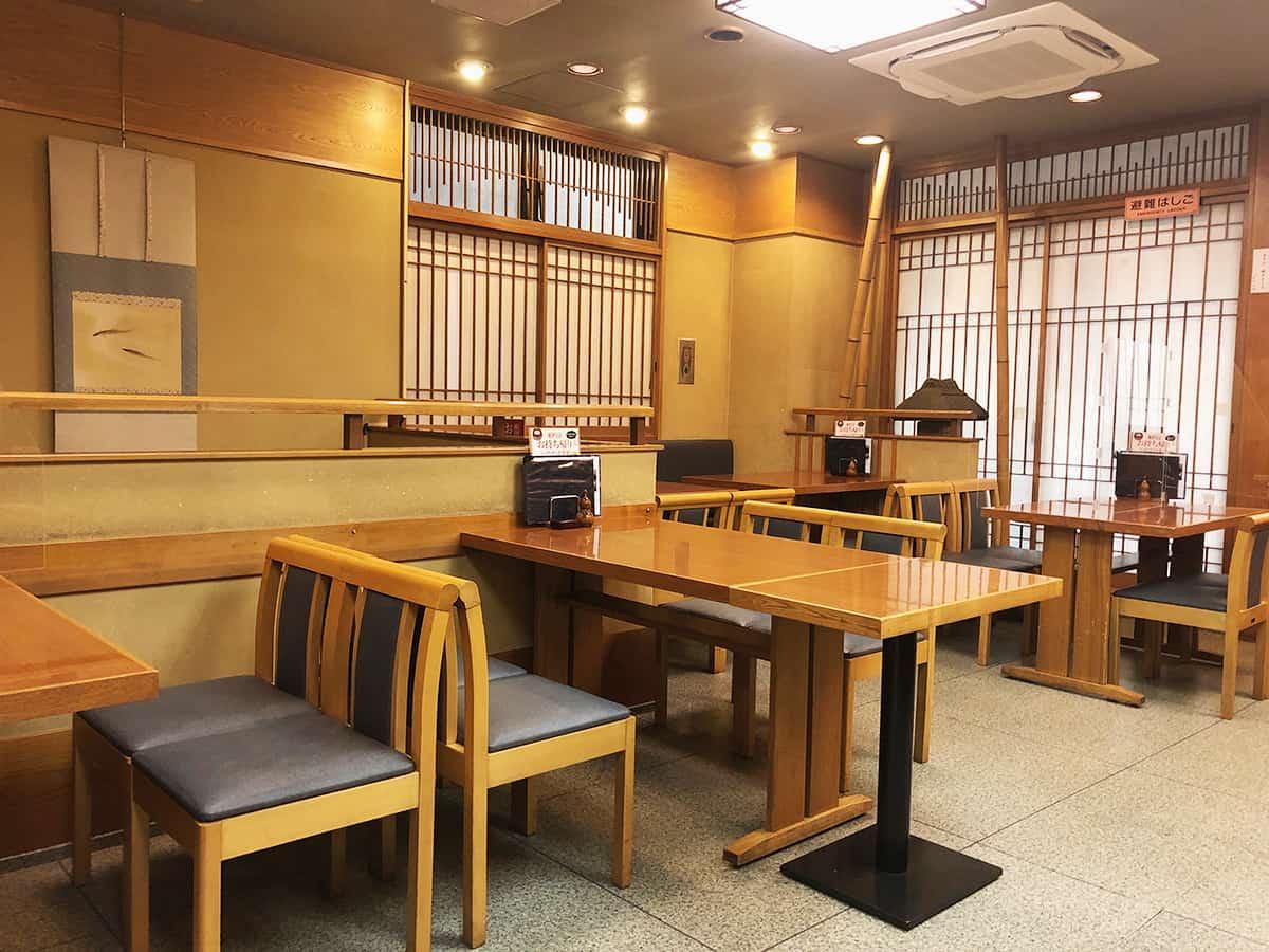 東京 日本橋 薮伊豆総本店 店内2階