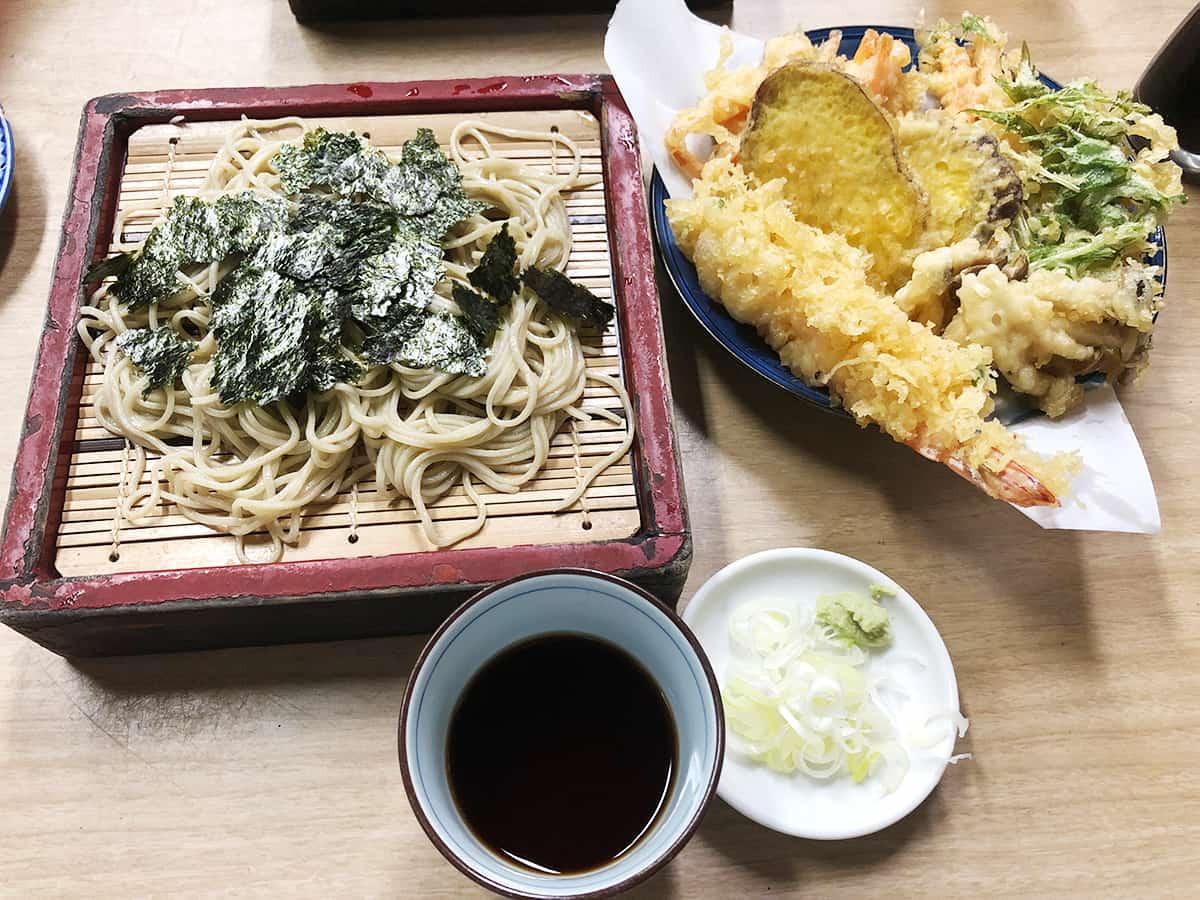 東京 三ノ輪 砂場総本家|天ざる蕎麦