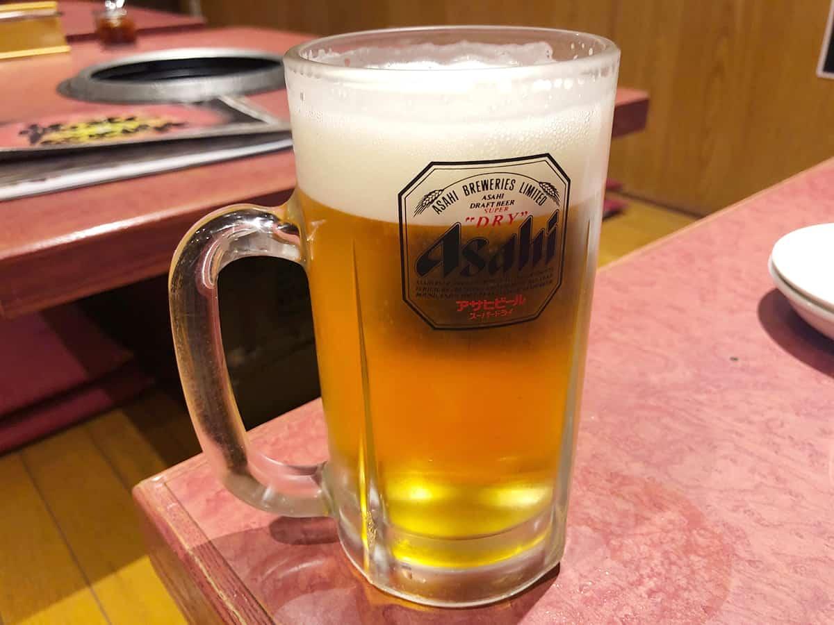 東京 浅草 本とさや|生ビール