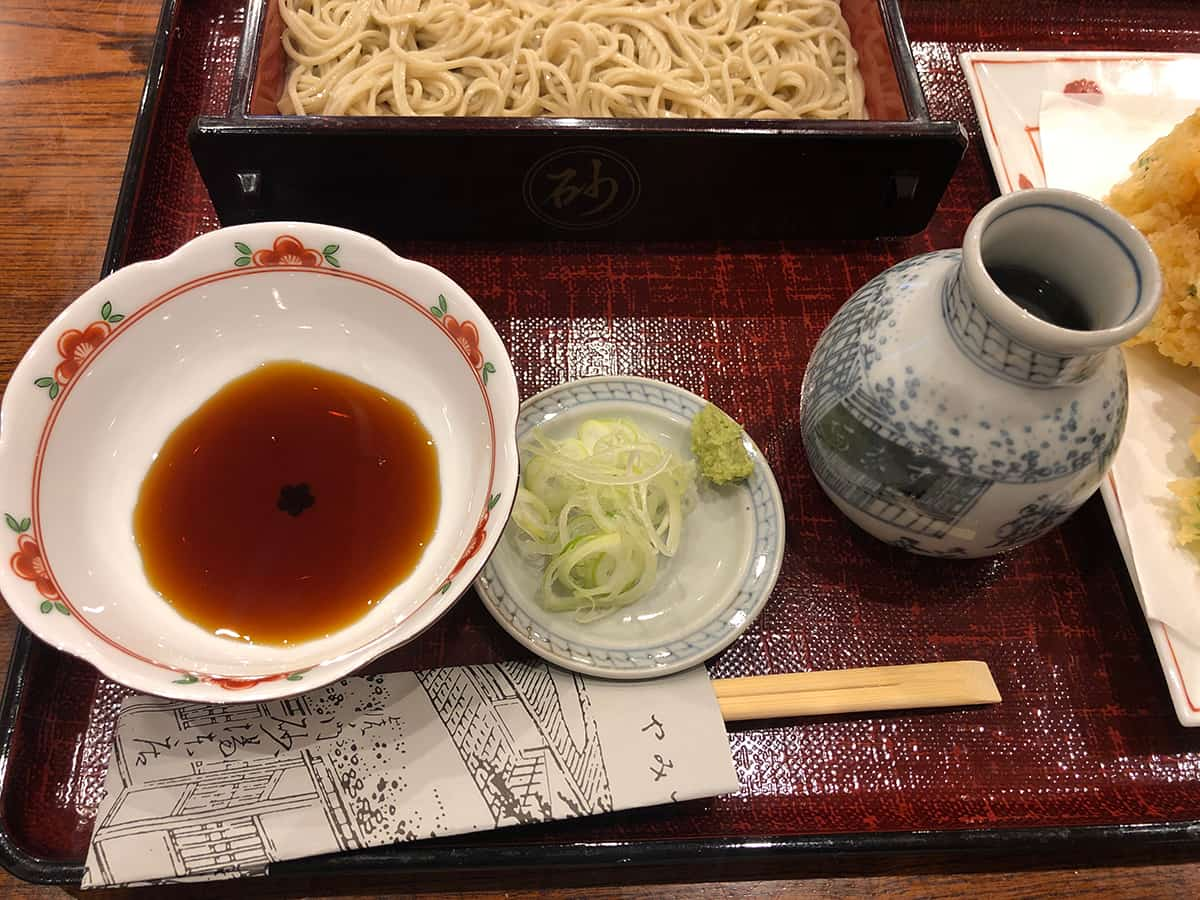 東京 虎ノ門 大坂屋 砂場 本店|蕎麦つゆ