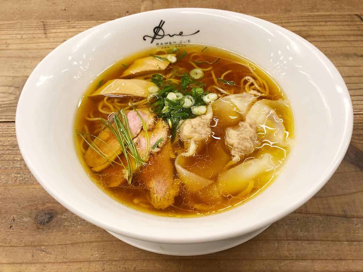 東京 内幸町 ラーメン ドゥエ エド ジャパン|醤油らぁ麺