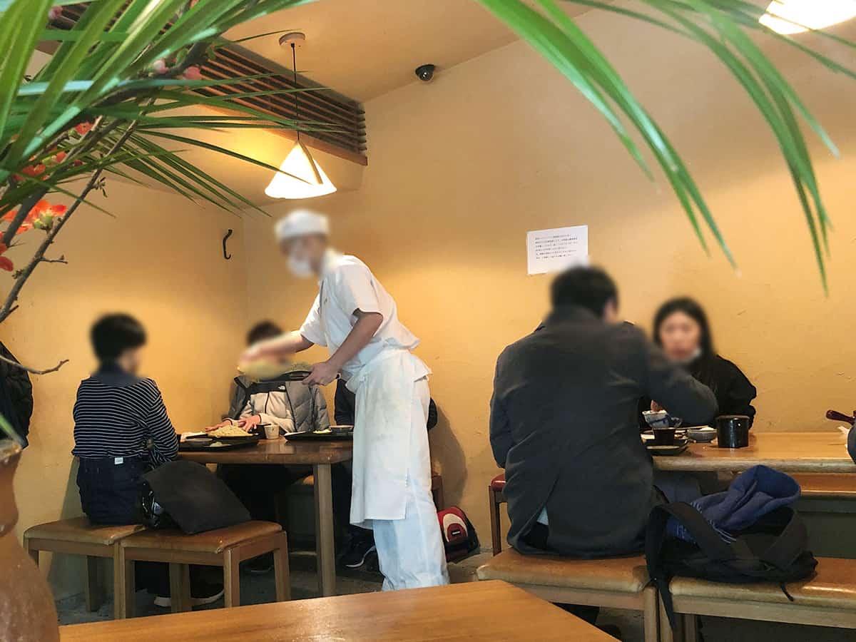 東京 両国 江戸蕎麦ほそ川|店内