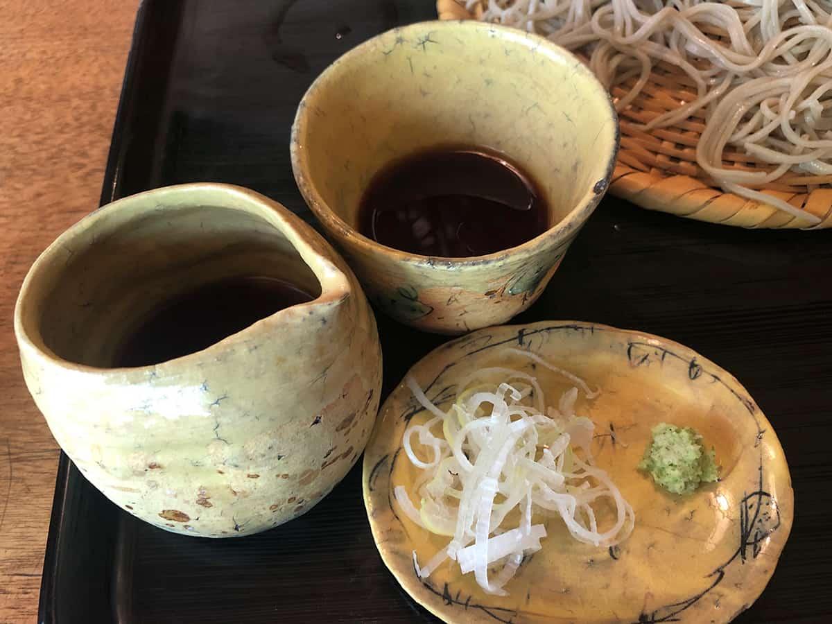 東京 両国 江戸蕎麦ほそ川|蕎麦つゆ
