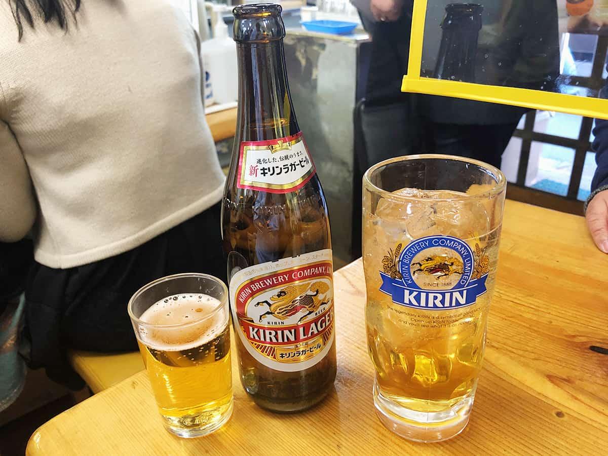 東京 両国 餃子会館 磐梯山|飲み物