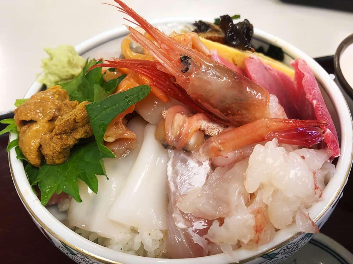 埼玉 所沢 定食や|海鮮丼