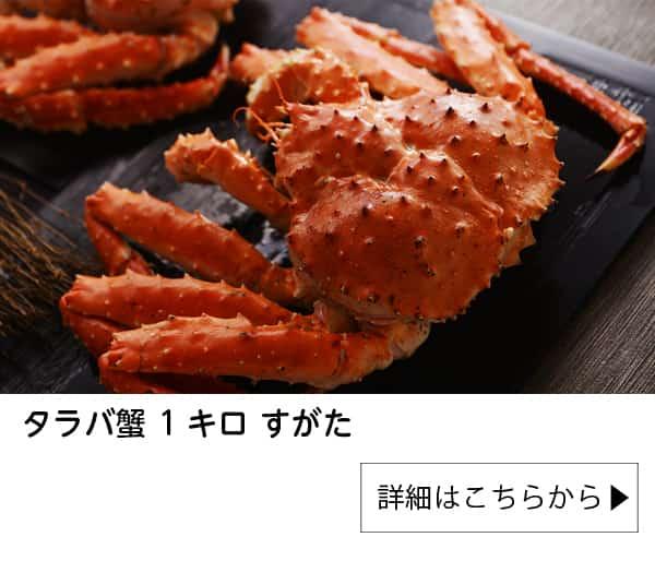タラバガニ 姿 1kg かに カニ 蟹 蟹姿 たらばがに たらば蟹 タラバ蟹 1キロ すがた ギフト 北国からの贈り物 加藤水産 送料無料|北国からの贈り物