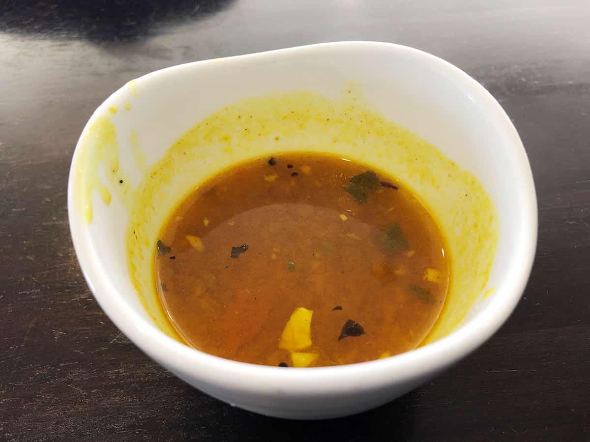 東京 銀座 カーン・ケバブ・ビリヤニ|スープ