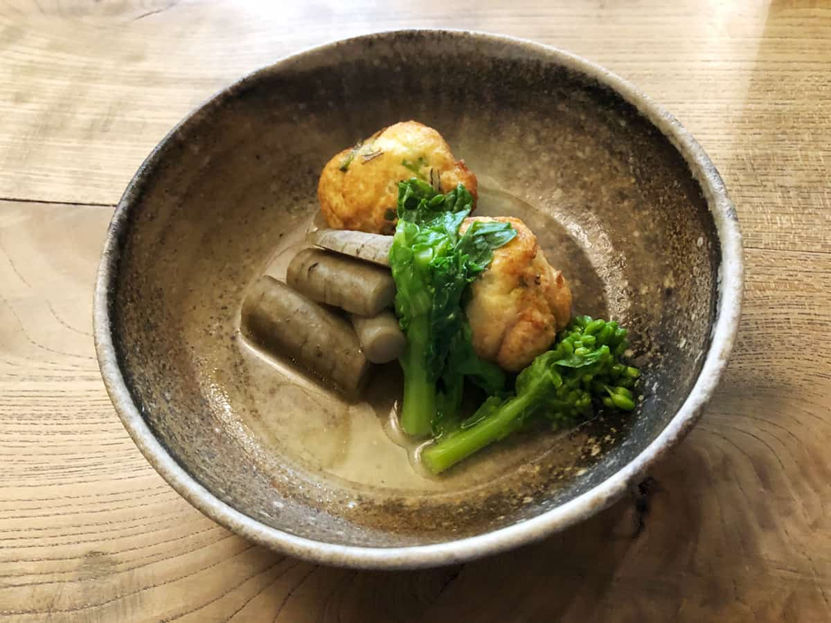 東京 八王子 蕎麦 坐忘|煮物