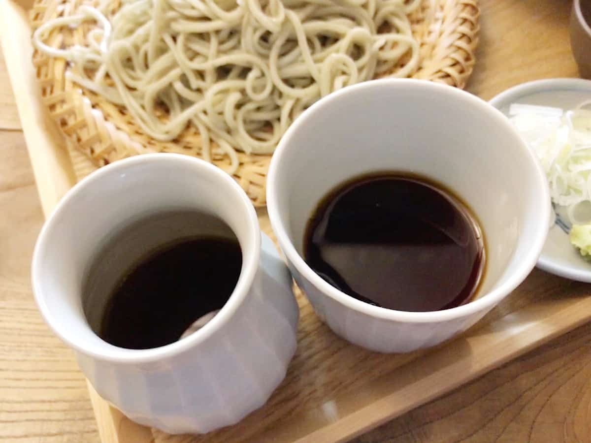 東京 八王子 蕎麦 坐忘|蕎麦つゆ