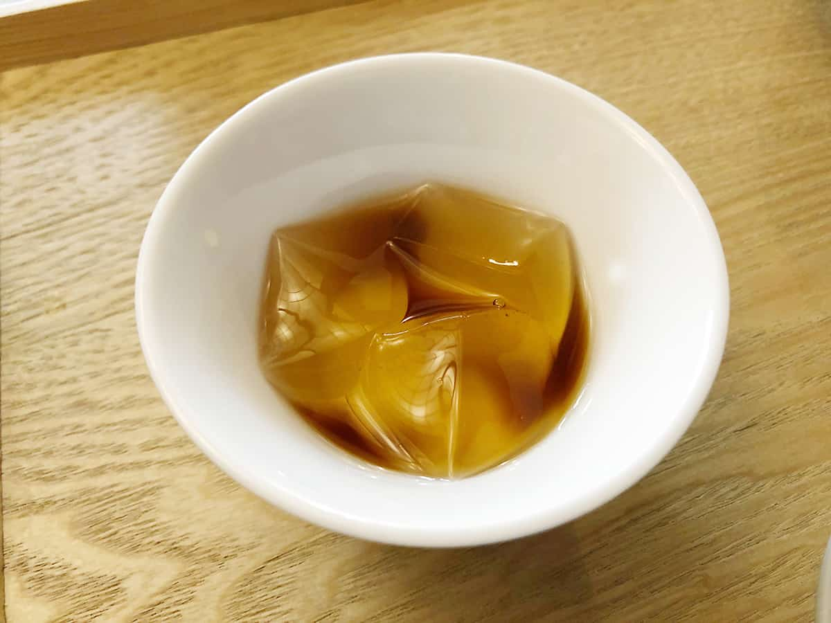 東京 八王子 蕎麦 坐忘|蕎麦ゼリー
