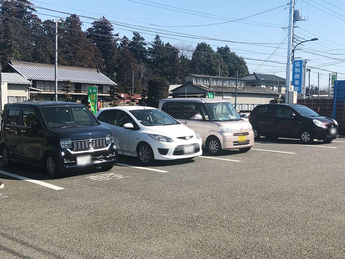東京 瑞穂 ウエストランドファーム (WEST LAND FARM)|駐車場