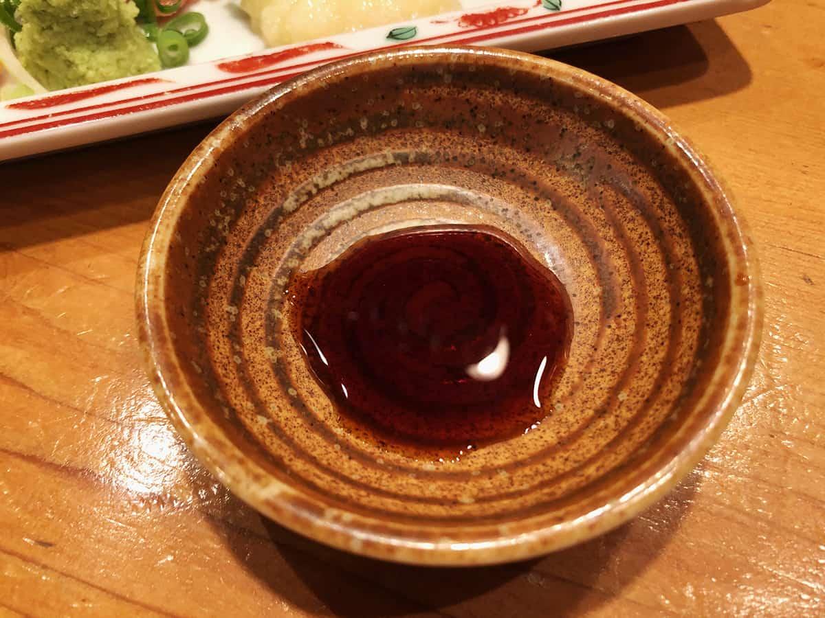 静岡 沼津 鳥よし|刺身醤油