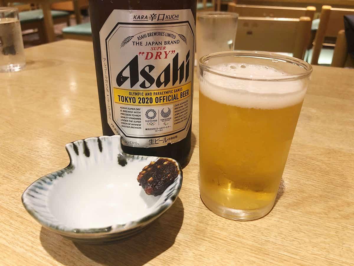 東京 吉祥寺 神田まつや 吉祥寺店 ビール(中)