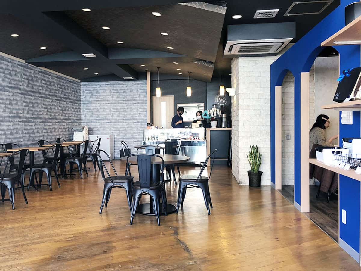 東京 国立 Patisserie cafe VIVANT (ヴィヴァン)|店内