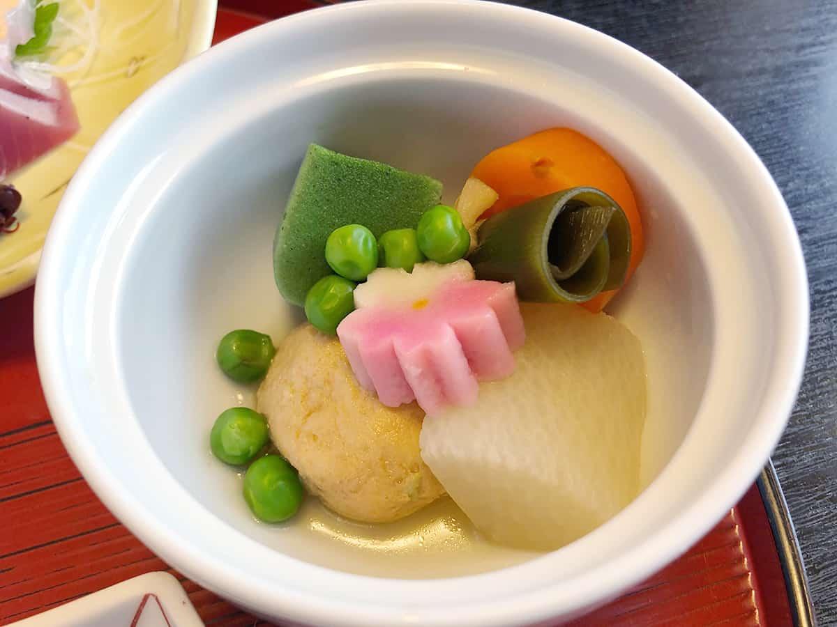 三重 志摩 日本料理 鯛|炊合せ