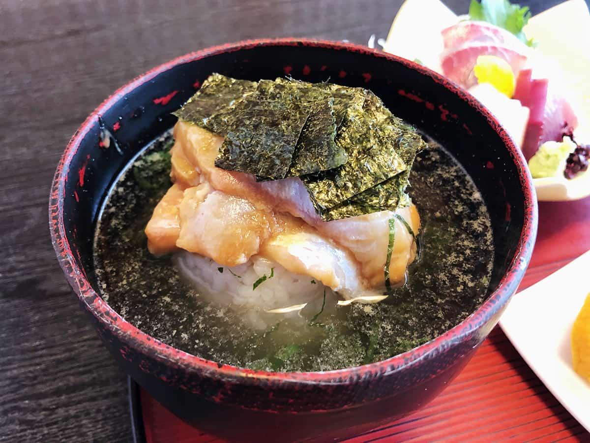 三重 志摩 日本料理 鯛|鯛茶漬け