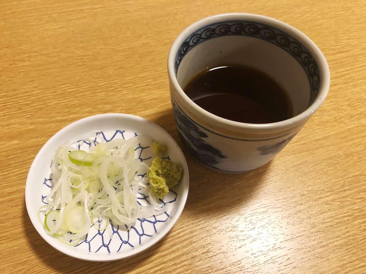 東京 神田 こんごう庵 神保町店|そばつゆ