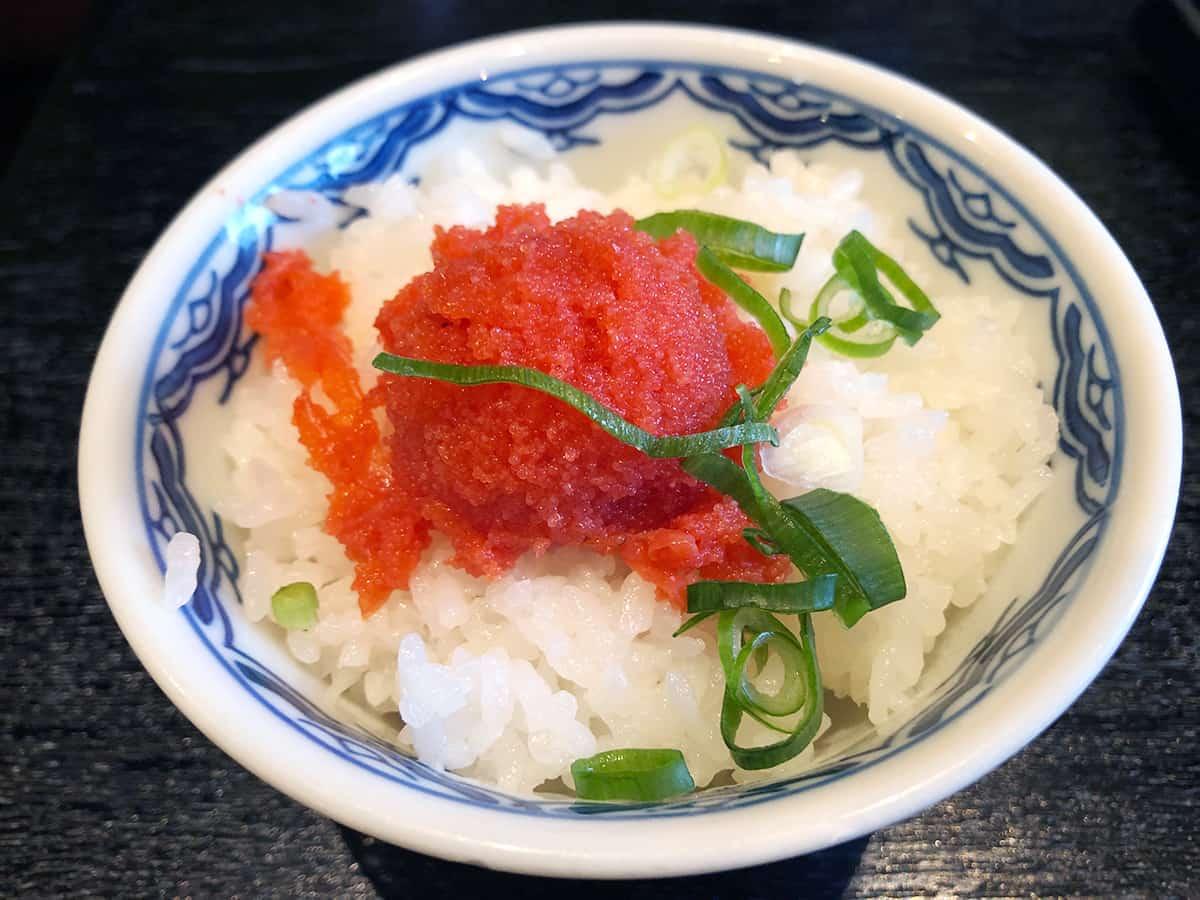 東京 丸の内 博多麺房 赤のれん 丸ビル店|明太子ご飯