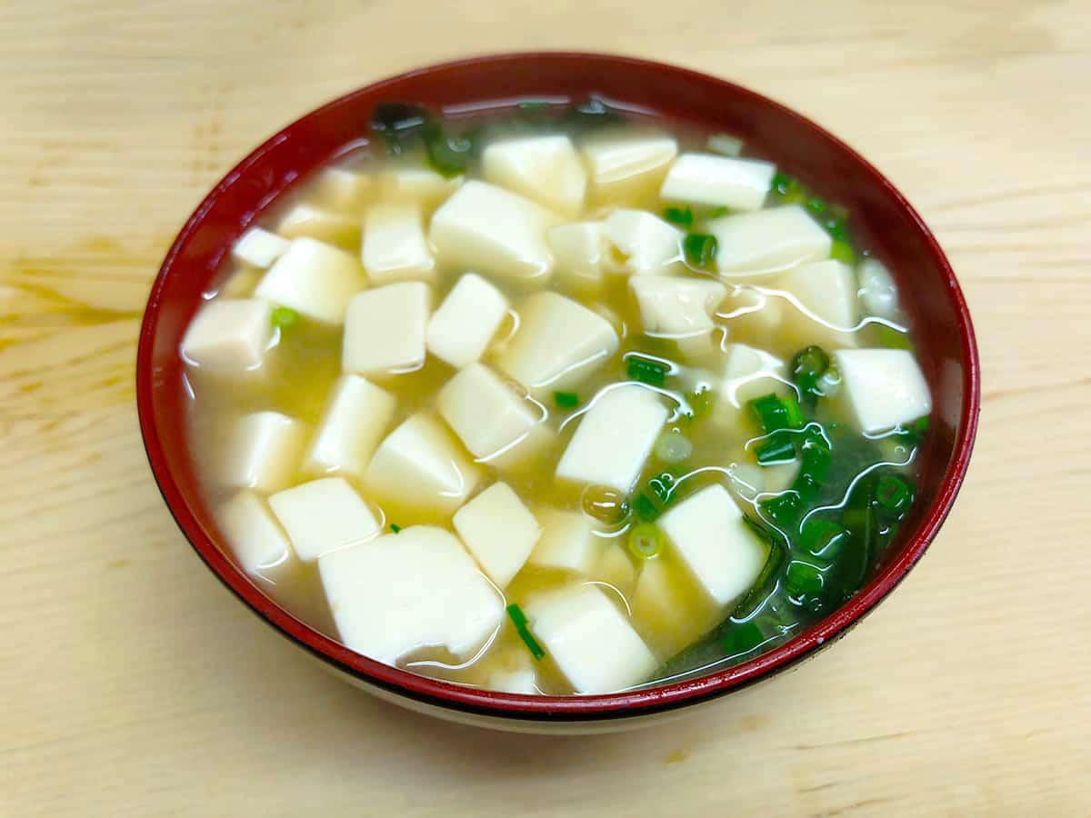東京 神保町 いもや|味噌汁