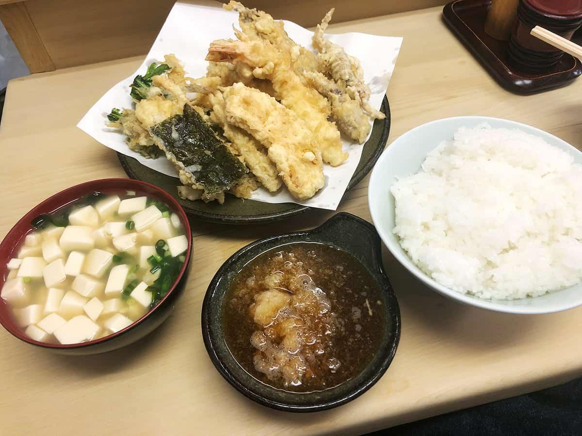 東京 神保町 いもや|天ぷら定食