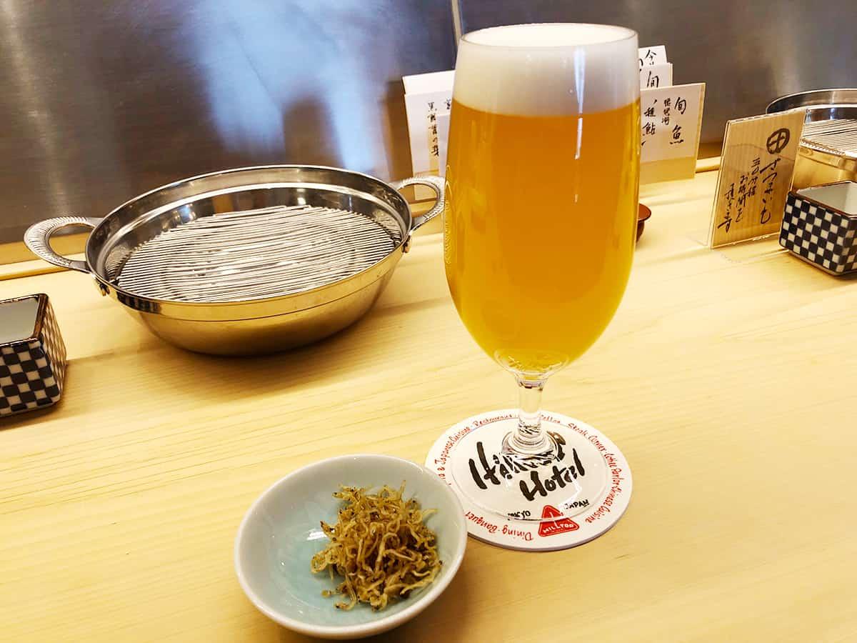 東京 神保町 てんぷらと和食 山の上|白穂乃香