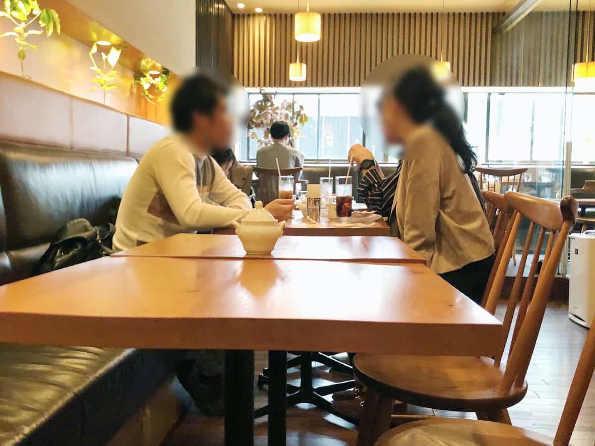 東京 銀座 炭火焙煎珈琲・凛 店内