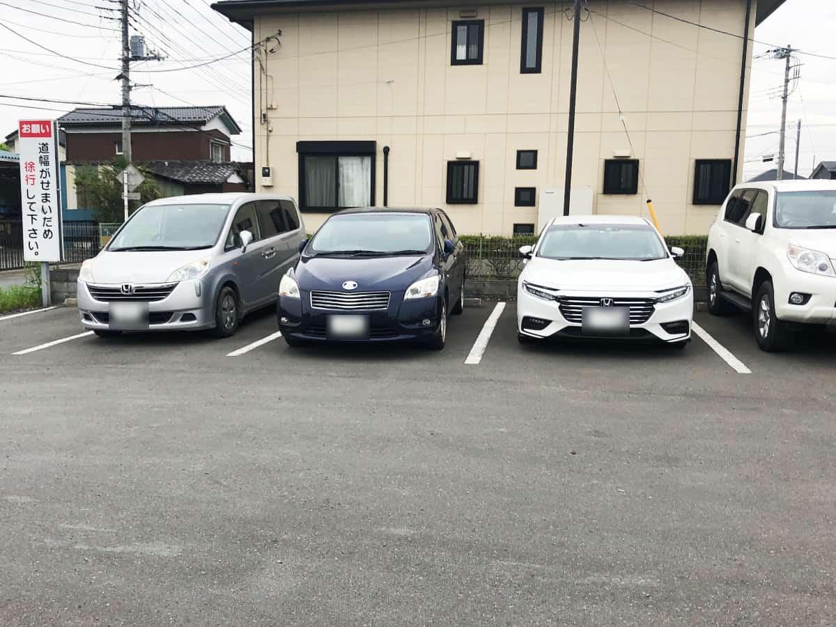 埼玉 川越 うどん本舗|駐車場
