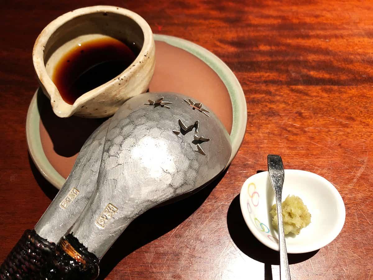 東京 立川 蕎麦懐石 無庵 蕎麦がき