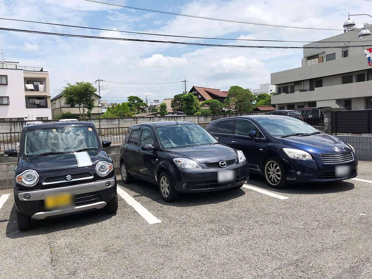 埼玉県 加須 かし亀|駐車場